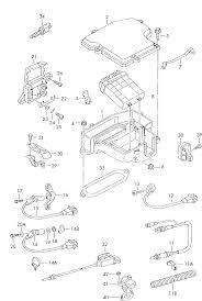 Online volkswagen passat 4motion santana spare parts catalogue europe market 2000 model year electrics group engine control unit fasteners