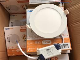 Đèn LED downlight âm trần siêu mỏng Nanoco NSD1231/NSD1241/NSD1261 12W  Panasonic