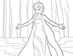 Small Picture Coloring Pages To Print Elsa Coloring Pages