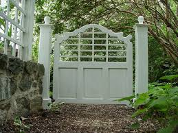front garden walls and gates. garden gates | lutyens gate - graceful front walls and a