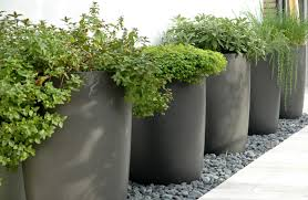 outdoor garden planters contemporary and modern style large