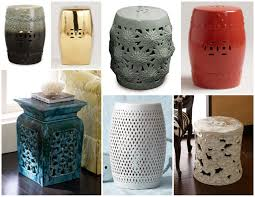 ceramic garden stool fits well in limited space of you garden carehomedecor