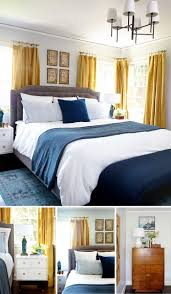 yellow bedroom furniture. Interior Light Graylls Robins Egg Blue Bedding Bright Yellow Curtains Fall To Match Colour Go With Bedroom Furniture