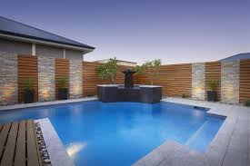 Swimming Pool:Modern Small Indoor Swimming Pool Design With Stone Surround  Ideas Interesting Modern Small
