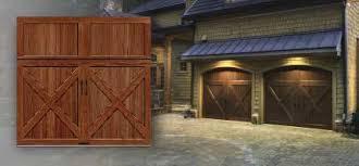 Clopay Faux Wood Garage Doors Clopay Canyon Ridge Faux Wood Garage