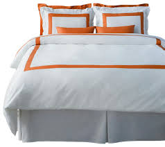 lacozi boutique hotel collection persimmon duvet cover set modern duvet covers and duvet sets by lacozi