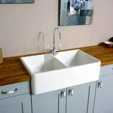 awesome porcelain kitchen sink in white also