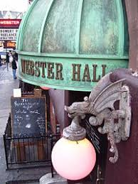 Webster Hall New York Seating Chart Webster Hall Wikipedia