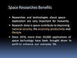 aviation history lecture space exploration space exploration  20 space researches benefits