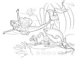 Barbie Coloring Sheet Printable Pages At Dolphin Tale Free Fairy