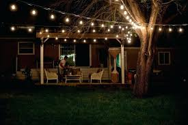 Old Fashioned Patio String Lights