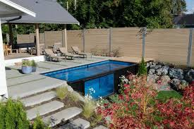 container pools cost robust pool texas best conex box ideas on garden fence paint