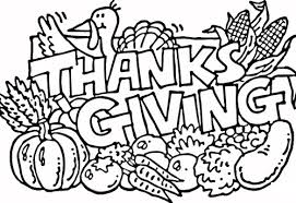 Small Picture Thanksgiving Coloring Pages Kids FunyColoring