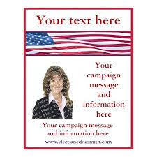 Political Campaign Brochure Template – Tangledbeard