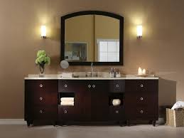 stylish modular wooden bathroom vanity. Contemporary Vanity Marvelous Modular Wooden Bathroom Vanity Decoration With Arched Mirror And  Two Wall Lamp Fixtures As  To Stylish R