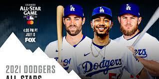 Los Angeles Dodgers' 2021 All-Stars