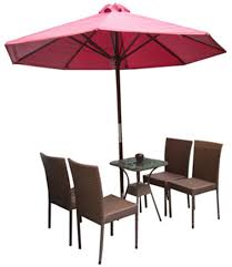 table and chairs png. set of pe rattan coffee table with 4 chairs and 1 umbrella. png