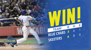 Skeeters Win Second Straight With 6 3 Victory Over The Blue