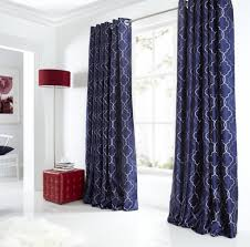 Navy And White Curtains Blue And White Curtains 63 Inspiring Style For Heavy Blackout