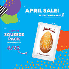 nutrition smart on twitter need an on the go snack try some justin s naturally delicious squeeze packs with ers curly on through the end