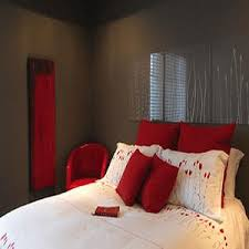 bedroom design ideas red. Gray And Red Bedroom Design Ideas