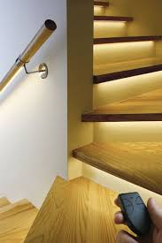 interior step lighting. AI- Attractive- Step- Lighting- Ideas- For- Outdoor -Spaces- Interior Step Lighting