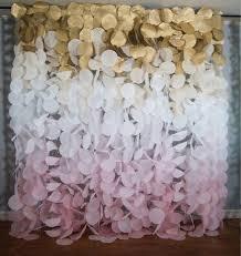 Paper Flower Backdrop Garland
