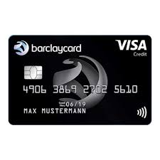 barclaycard visa credit card germany
