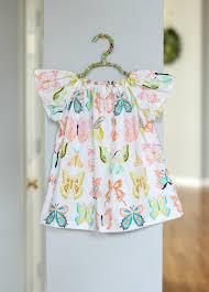 Baby Girl Dress Pattern Simple Design