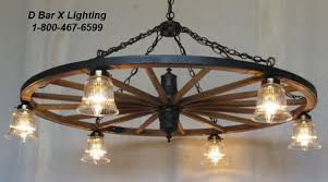 wagon wheel lighting fixtures.  Wheel WW022426  Rustic Wagon Wheel Chandelier Light Fixture 42inch Dia  With 6 Downlights Shown Glass Shades Shades Sold Separately Intended Lighting Fixtures D