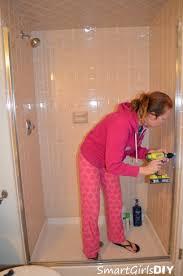 removing shower door unit smart girls diy