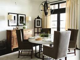 dining table with wingback chairs