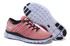 nike running shoes 2016 for girls. womens nike flyknit free 5. 0 pink multicolor girl sneakers running shoes 599459 010 2016 for girls