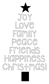 Printable Christmas Tree Free Printable Christmas Tree Word Art Pillow Idea Crazy