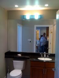 how to light a bathroom vanity