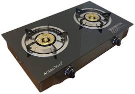 Amazoncom 2 Burner Propane Gas Stove Cooktop Portable Cooker