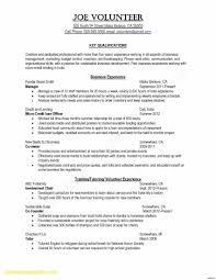Resume Sample Nursing Job New Samples Resume Unique Unique A Sample