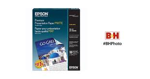 <b>Epson</b> Premium Presentation Paper <b>Matte Double</b>-<b>Sided</b> S041568 ...