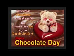 chocolate day quotes for friends. Chocolate Day Quotes February 2017 Happy Love Wallpaper Pics YouTube Inside For Friends
