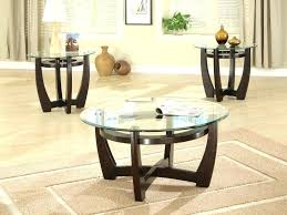 glass top coffee table set small round sets rectangular