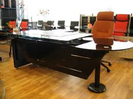 small office table design. glass modern office table design ideas with red chairs in small interior
