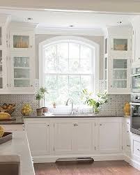 kitchen sink window decor ideas traditional kitchens homes