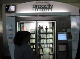 Find Proactiv Vending Machine