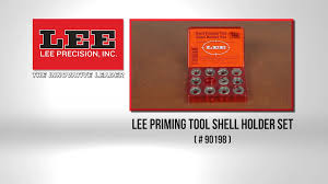 Hand Priming Tool Shell Holder Set Lee Precision