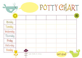 Reward Chart For 2 Year Old 60 Methodical Potty Charts For Two Year Olds