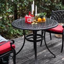 nuu garden 36 inch outdoor round patio