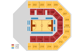 State Of The Union Seating Chart Credit Union 1 Arena At Uic Chicago Tickets Schedule