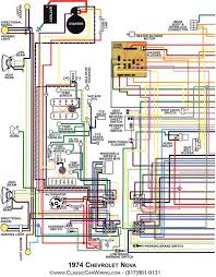 nova parts 14377 1974 nova full color wiring diagram 1974 nova full color wiring diagram console 8 1 2 x 11