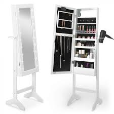 white led armoire mirror makeup and