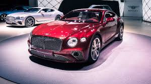 2018 bentley sports car. simple bentley 2018 bentley continental gt at frankfurt motor show car tv in bentley sports car